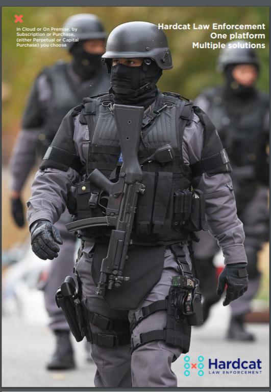 Hardcat Police Equipment Tracking