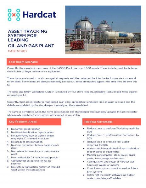 Gasco case study flyer image