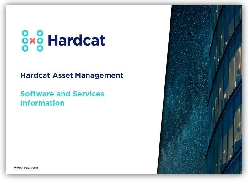 Hardcat asset register software and services