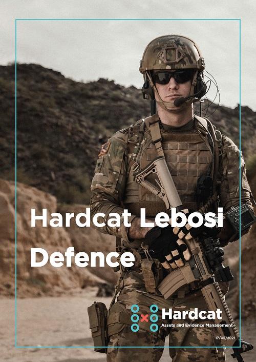 LF2021 Hardcat Lebosi Defence - Armoury Equipment Tracking