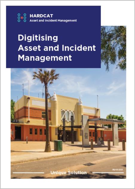 Hardcat Digitising Asset & Incident Management cover